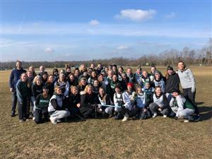 Seneca Girls Lacrosse with Injury Prevention Instructors