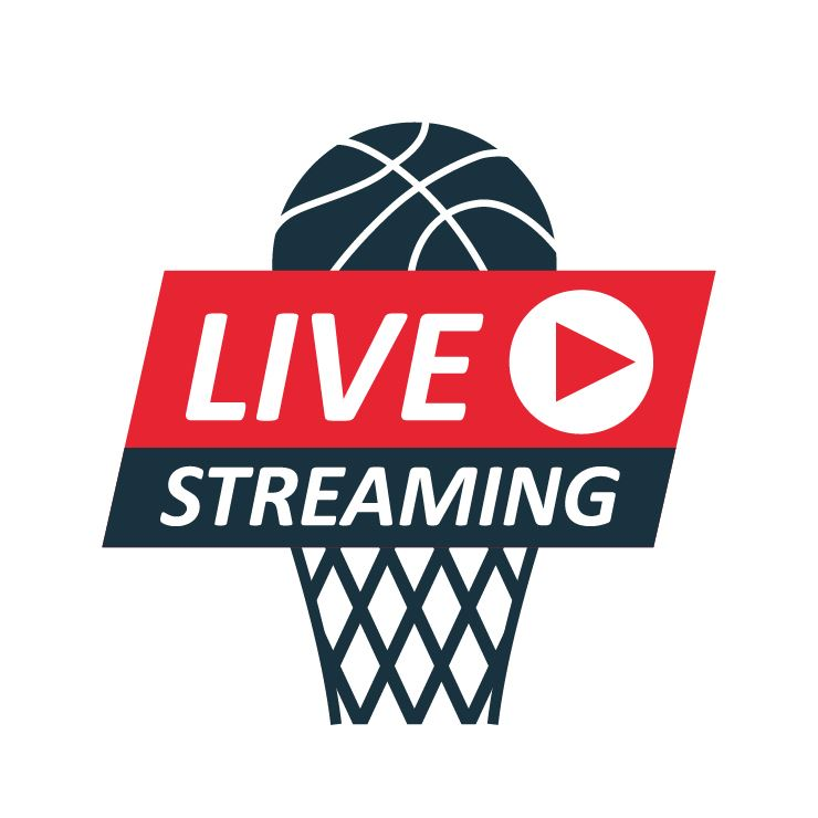 live stream basketball graphic