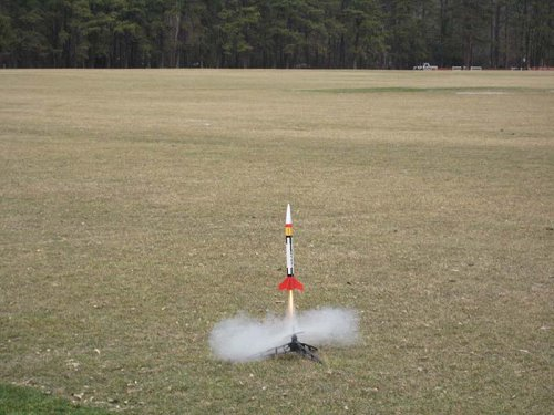 Patriot Rocket Takeoff