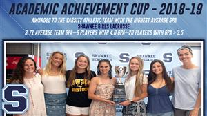 Academic Achievement Cup 2019 Lacrosse Team Photo