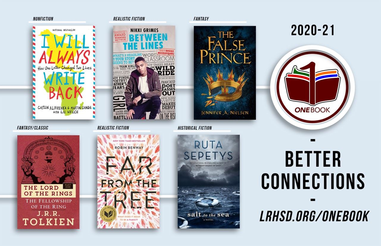 One Book, One District 2020-2021 Books