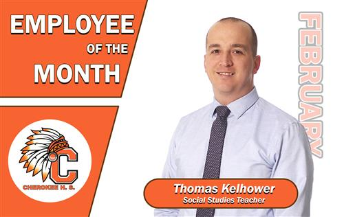 Employee of the Month of February