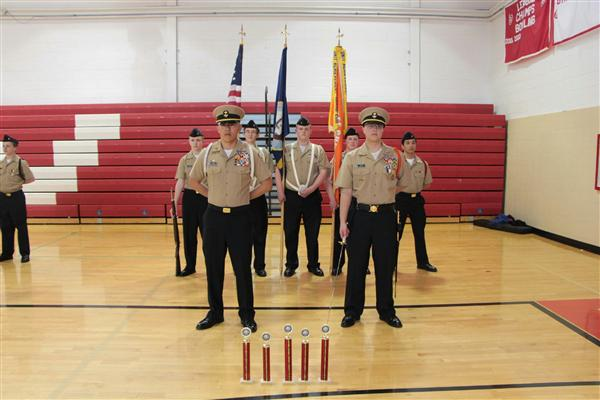RV DRILL MEET RESULTS: 1ST PLACE ACADEMICS & NS1 CG, 2ND PLACE PT AND VARSITY CG, 3RD PLACE INSPECTION