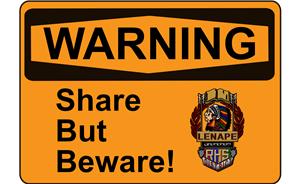 Share But Beware!