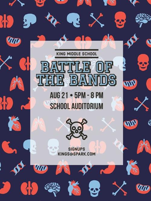 battle bands Example