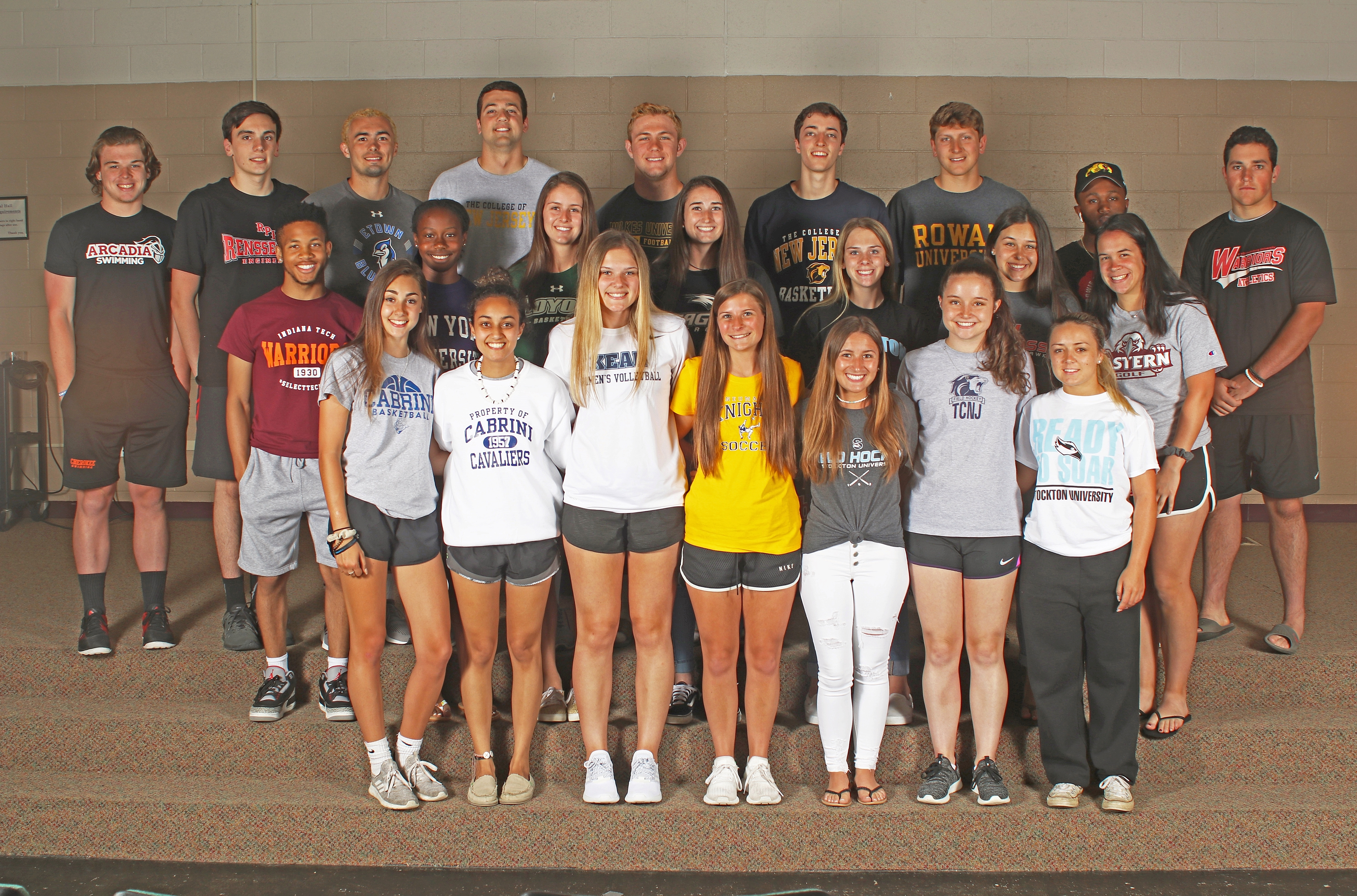 53 graduates of Cherokee High School will be pursuing athletics at the collegiate level.