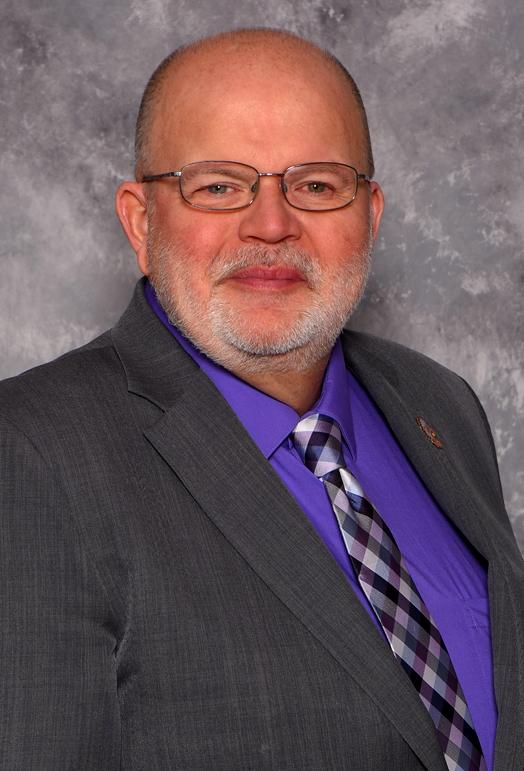Board President Barry Fitzgerald