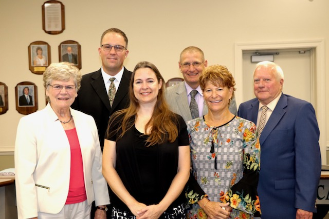 Board of Education Honoring Lenape District Teacher of the Year